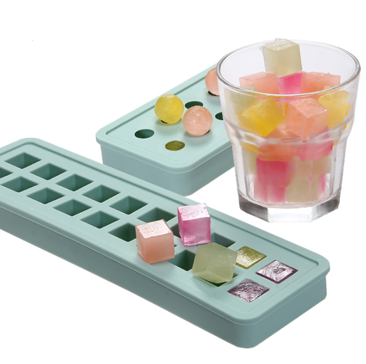 New design bpa free 20 cavity wholesale custom personalized silicone ice cube tray