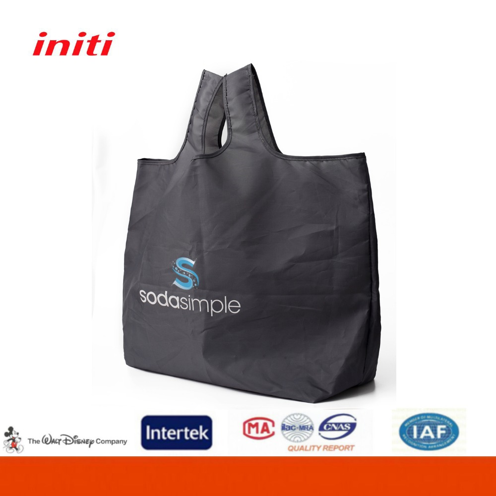 2016 Recyclable Customized Design Fold up Polyester Bag