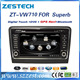 for skoda superb multimedia player with car dvd player audio gps navigation BT TV multimedia