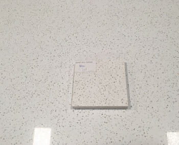 Modified Acrylic Solid Surface White Artificial Stone Slab