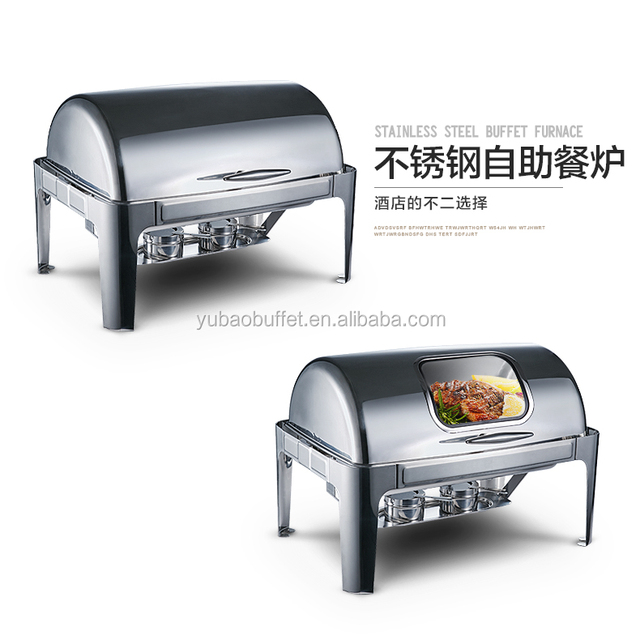 Industrial Kitchen Equipment Cheap Deluxe Stainless Steel Chafing Dish For Sale Philippines