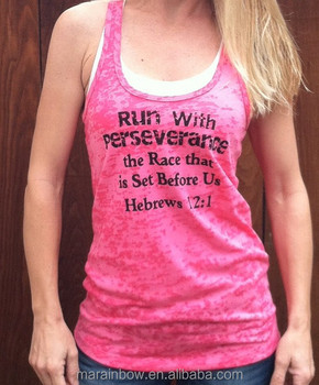 d49a216a07 Popular Items of Womens Loose Fit Workout Tank Top Burnout Racerback Tank  Tops Custom Printed Fitness
