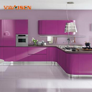 L Shaped Modular Kitchen Designs European Kitchen Cabinet ...