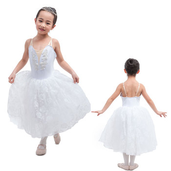 9374bf672 Romantic Length Professional Stage Costume Girls Snow Scene ...