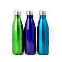 Double Wall Insulated Vacuum Stainless Steel Water Bottle Coke Shaped insulation Cup Sport Travel Bottle