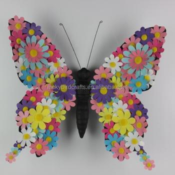 Handmade Spring Flower Decoration Paper Flower Butterfly Spring