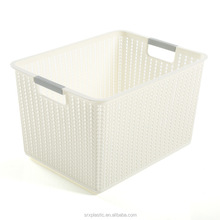 Wholesale plastic cothes bay toys storage basket organizer