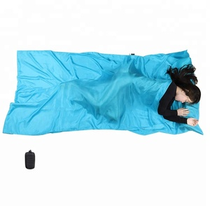 Reinforced Gussets More Colors Lightweight Travel Sheet Sleep Sack Silk Sleeping Bag Liner