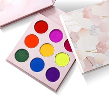 Nieuwe product ideeën 2019 <span class=keywords><strong>cosmetica</strong></span> make 9 kleur neon eyeshadow palette private label oogschaduw