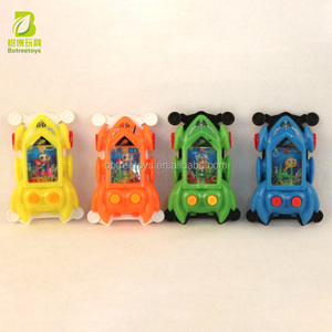 Cheap Handheld Game Console Sports Car Water Game Machine Kids Toy