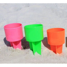 Spikers Plastic Beach Beverage Sand Cup Holder