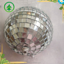 xibao brand 2017 new product 10cm Silver christmas glass ball , christmas tree ornaments