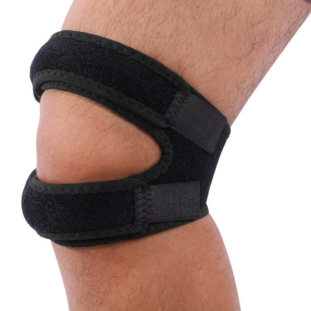 f1e65be0cd Get Quotations · Premium Patella Knee Strap Patellar Tendon Support Brace &  Patella Stabilizer Band for Knee Pain Relief