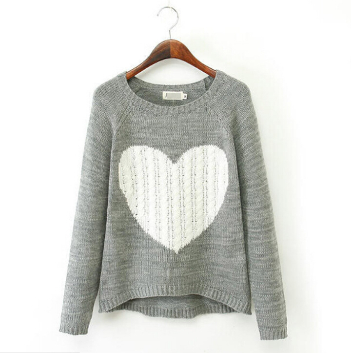 4cfe3ae079 Get Quotations · Women Sweater Blouse Casual Knitted Tunic Clothes Autumn  Wool Pullover Jumper 2015 Fashion O-Neck
