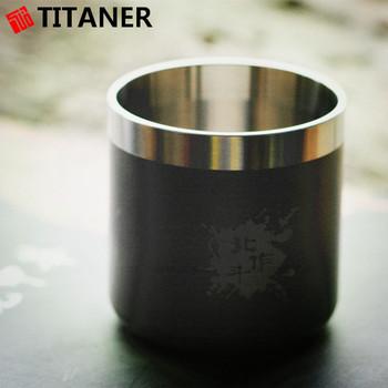 good titanium metal cup custom coffee travel mugs for camping - Coffee Travel Mugs