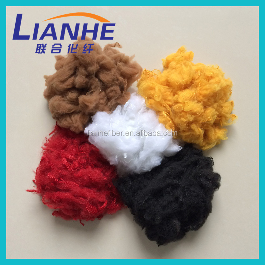 Regenerated Polyester staple Fiber(PSF) size in 13D/14D/15D*51MM/64MM