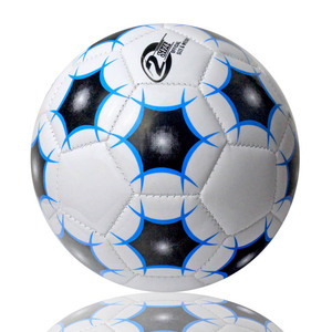 well sewing mini ball size 2 pvc football 6 inches pvc soccer ball for kid toy
