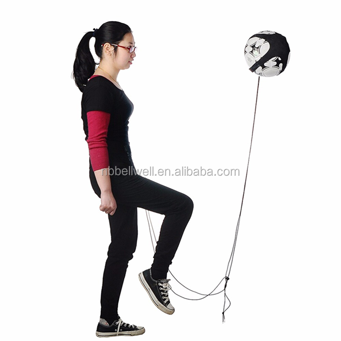 Soccer/Football Kick/Throw Trainer Solo Practice Training Aid Control Skills with string