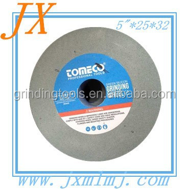 China 125*25*32mm GC abrasive grinding stone in low price made in Linyi Jinxiing