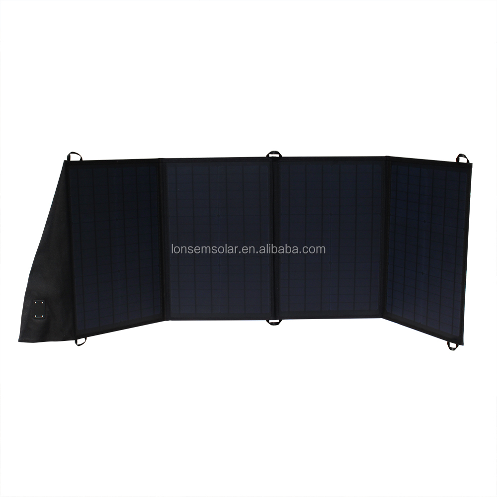 China Factory Export Import Solar Panels 100 Watt Folding Camping Solar Panels Sunpower Solar Cell 18V