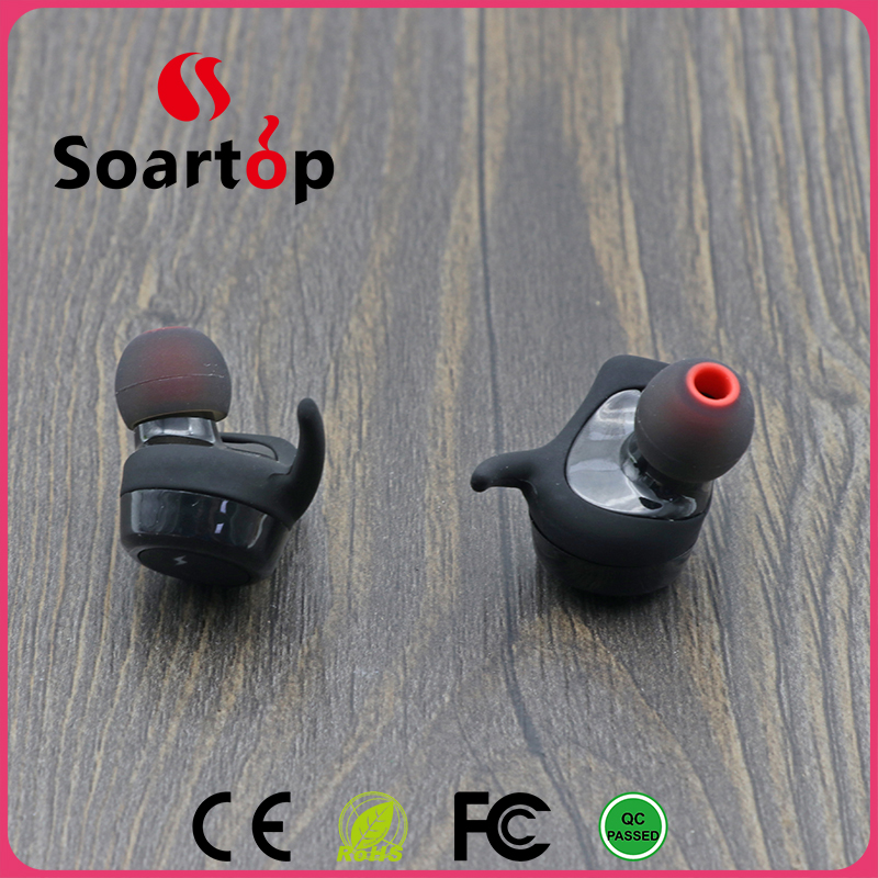2017 New model bluetooth earphone Mini wireless bluetooth headset,Stereo Hands Free Headset Mini Wireless Bluetooth