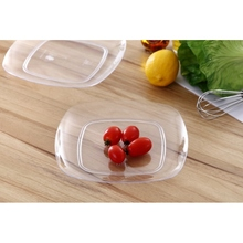 Hot sale product plastic tray rectangular nuts and fruits plastic serving dishes snack dish