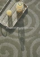 synthetic floor carpet 100% polypropylene cut and loop pile pattern carpet