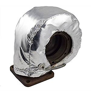 Heatshield Products 300008 HP Turbo Heat Shield for T2 Flange (G25,27,28) Turbo Housings with Wastegate