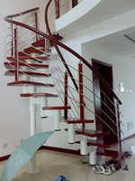 prefabricated stairs steel/spirale stairs kit