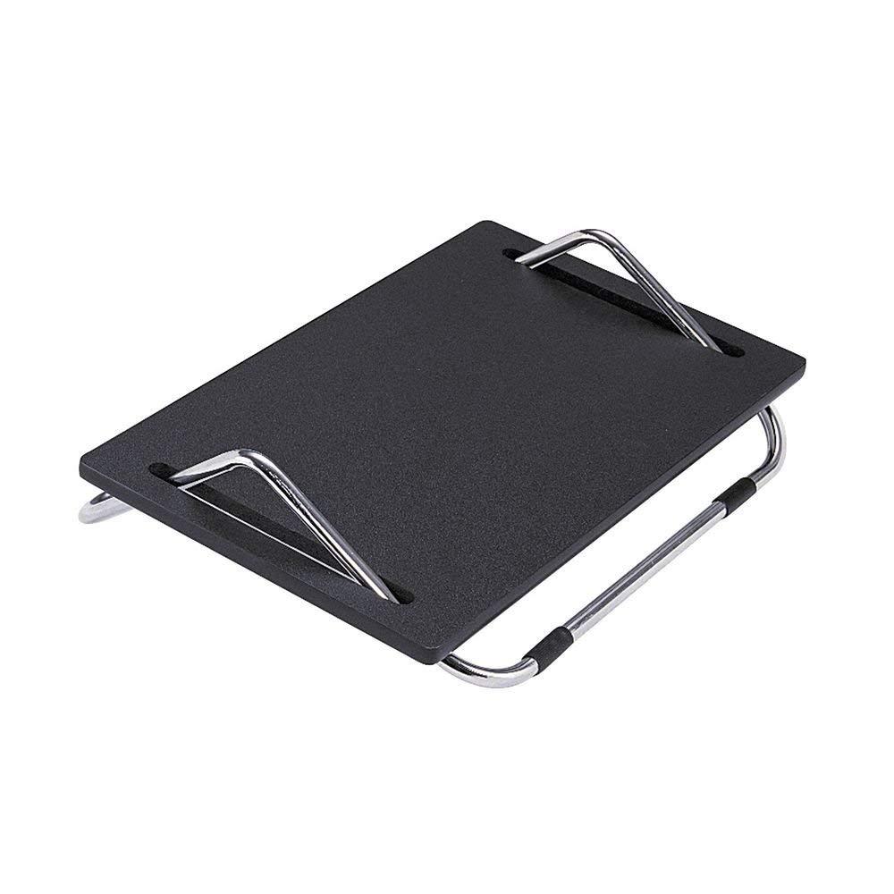 SAFCO PRODUCTS 2105 Ergo-Comfort Adjustable Footrest, 18-1/2w x 11-1/2d x 5h, Black