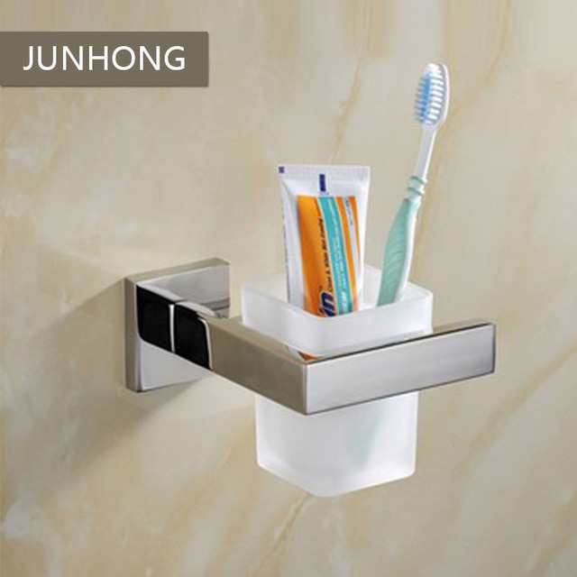 High Quality 304 Stainless Steel Bathroom Cup Holders