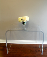 Cheap wholesale acrylic console table