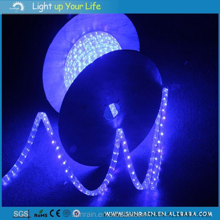 2016 Home Christmas Decorative Lighting Swimming Pool Underwater Super Bright Waterproof 3 Wire LED Rope Light
