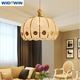 Restaurant golden creative pendant light modern pendant lamp