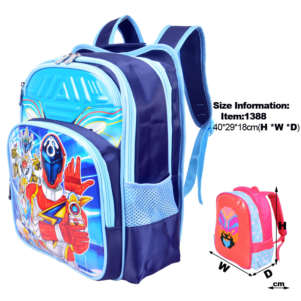 School bag hs code - Wholesale Few Moq Order School Bag Princess Backpack Rose Red Green Blue Bags For Girl And