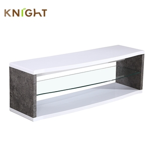 Modern contemporary color combinations mdf board material mirrored plexiglass laminate tv stands cabinet in india