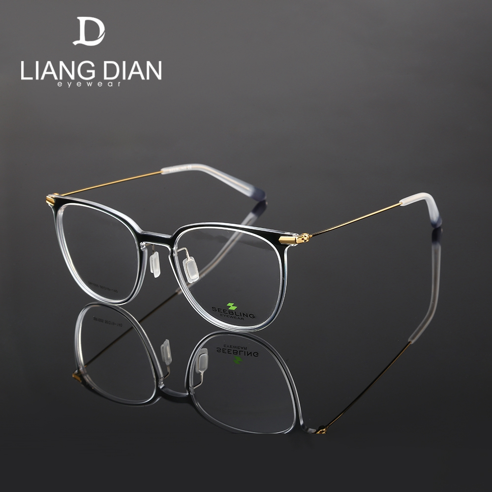 Famous brands high definition beautiful fancy TR90 optical glasses frames