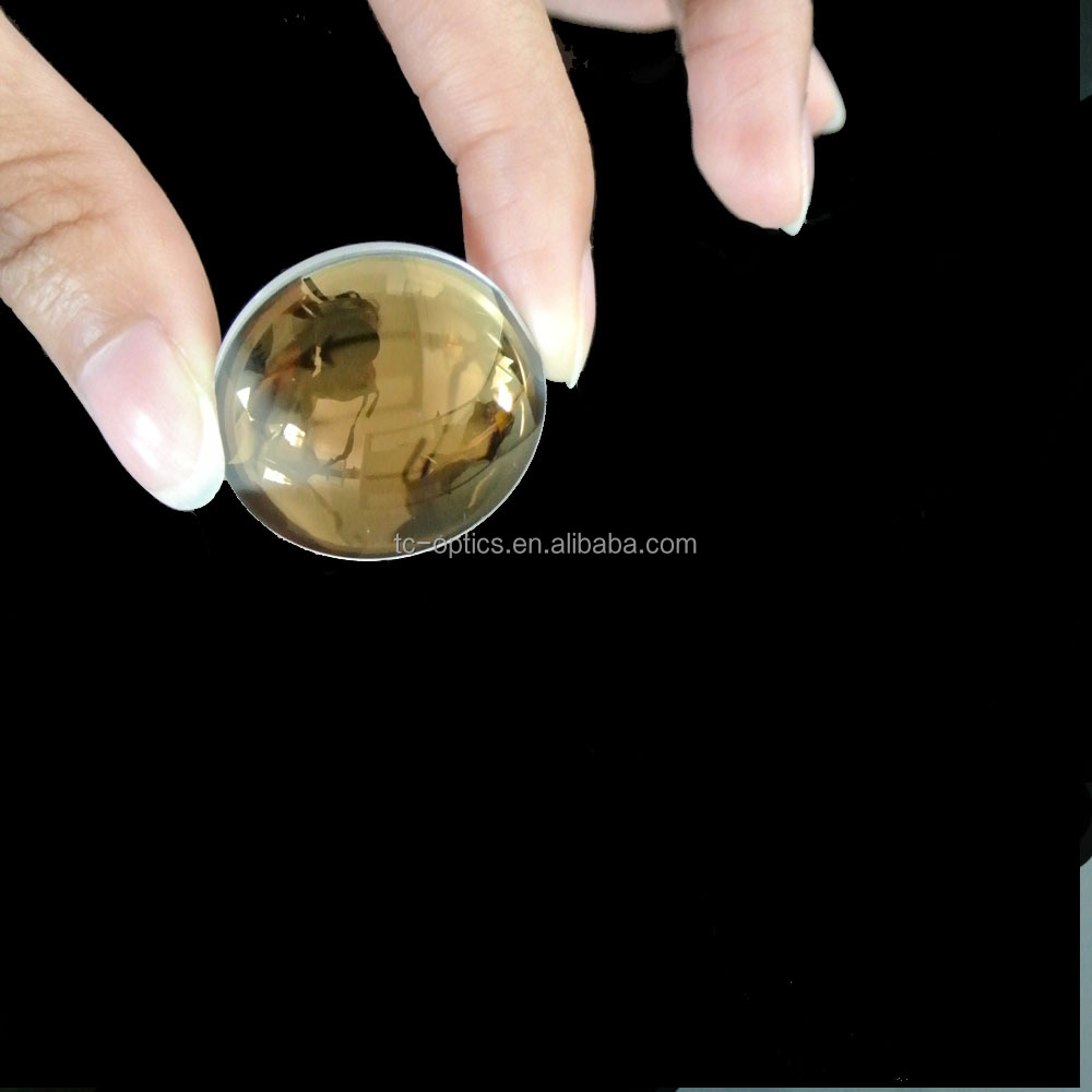 Optical glass lens laser pointer lens