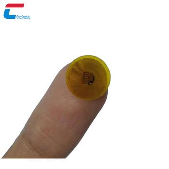 Micro Rfid Tiny Nfc Sticker,Small Rfid Mini Round 8mm 9mm Nfc Tag Label  Sticker - Buy Mirco Rfid Tag,Rfid Mini Nfc Tag,Small Nfc Tag Product on
