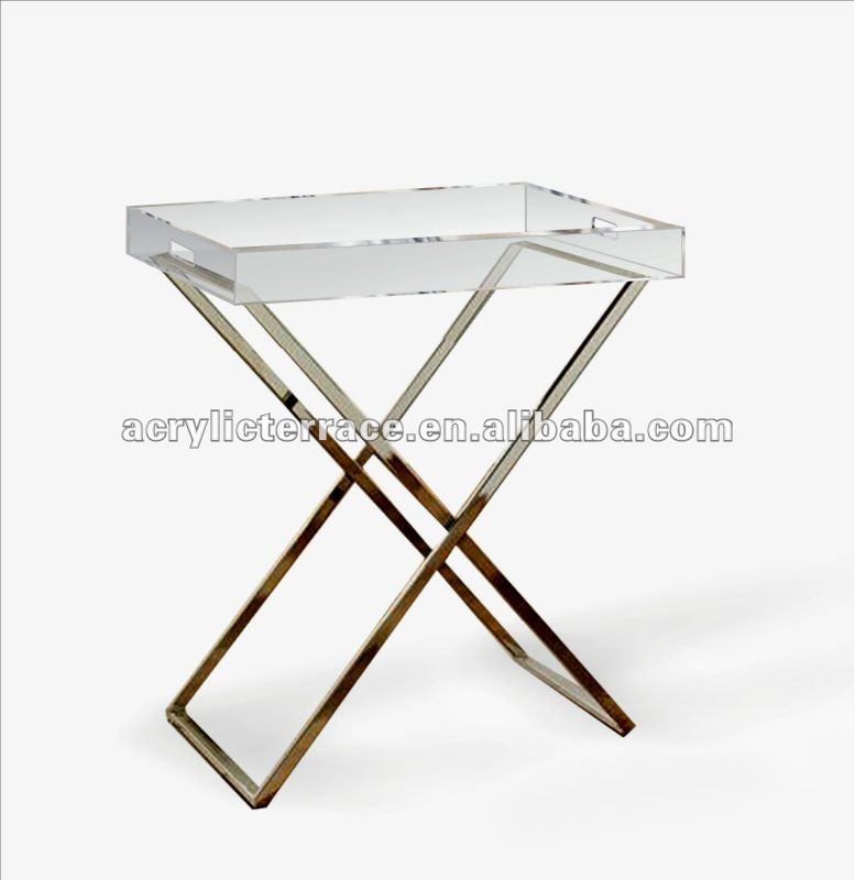 Acrylic Lucite Butler Tray Table   Buy Acrylic Lucite Butler Tray Table,Folding  Tray Table,Tray Table Product On Alibaba.com