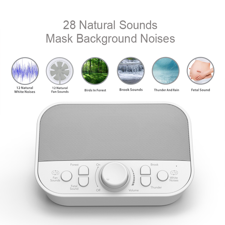Good sell white noise sound machine baby for sleep