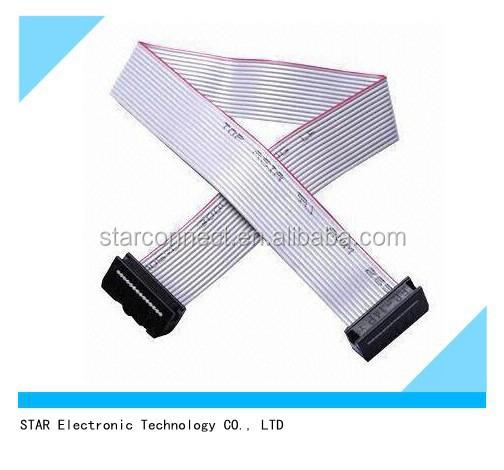Ul approuv lectrique 16 broches idc connecteur c ble - Cable electrique plat ...