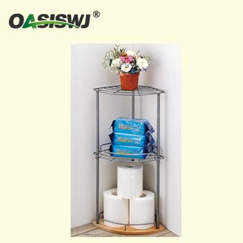 Toilet Corner Storage Rack,Bathroom Triangle Rack,Toilet Paper ...