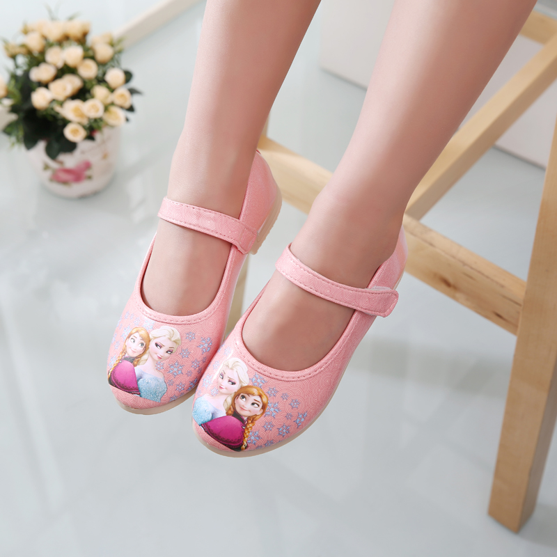 free shipping autumn new children for baby girls pink party baby princess cute shoes comfortable super