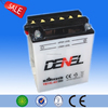 12v16ah dry charged motorcycle battery made in China for motor bike