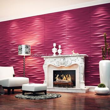 Elegant Hermosa 3D Paneles De Pared Para Interior Decoración Placas Pared