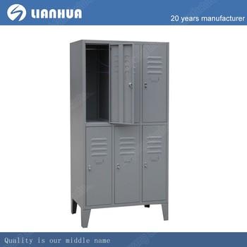 Mudroom Storage Lockers Metal Waterproof Storage Foot Locker