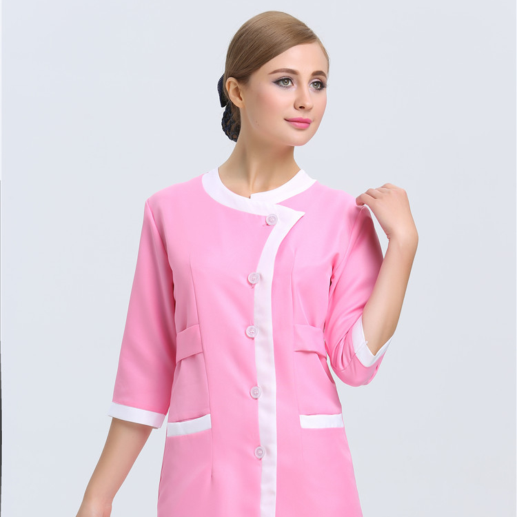 Work Wear & Uniforms Orderly 2018 New Arrival Hotel Uniform Lab Dress Women Short Sleeved Medical Uniform Attire Beauty Salon Spa Fashion Workwear Clothing Latest Fashion Medical