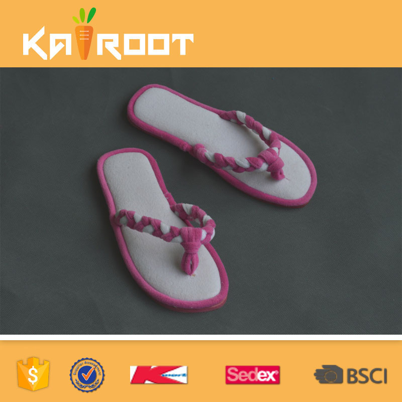 customized cute producer anti slip slippers for bathing for woman