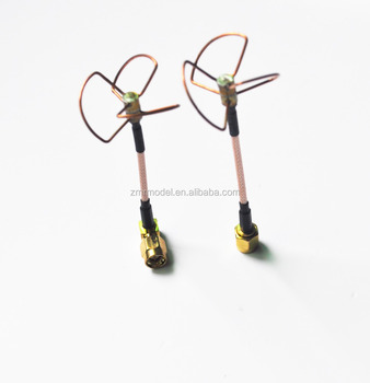 5 8 Ghz Fpv Straight Shape L Type Inner Needle / Inner Hole Cloverleaf  5 8ghz Antennas Set For Uav Rc Helicopter Drone Antenna - Buy Drone